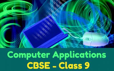 Class 9 CBSE Computer Made Easy