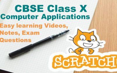 Fun with Scratch CBSE Class 9 & 10