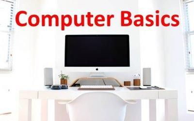 Computer Basics Explained!