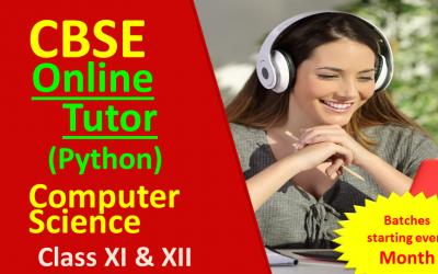 CBSE Class 12 Online Classes Python Simplified
