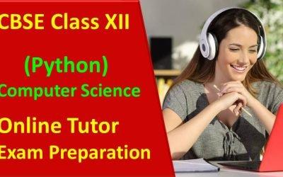 CBSE Python Class XII Exam Prep Tutor