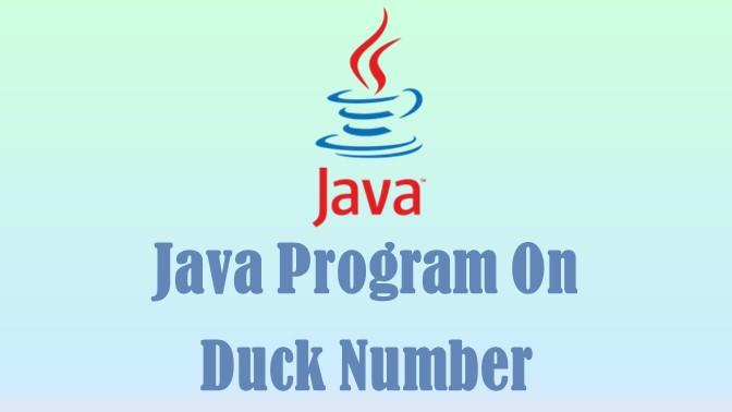 Duck Number
