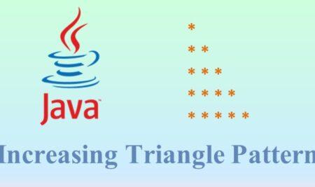 Increasing Triangle Star Pattern