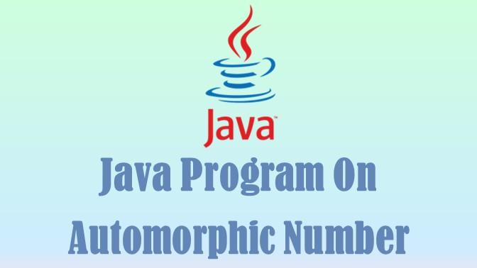 Automorphic Number