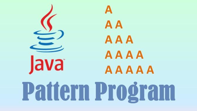 character pattern programs