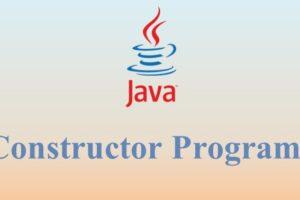 Constructor Programs