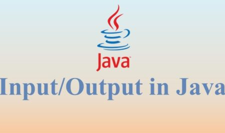 Input/Output in Java