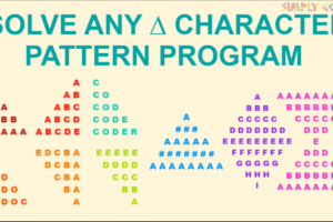 character patterns
