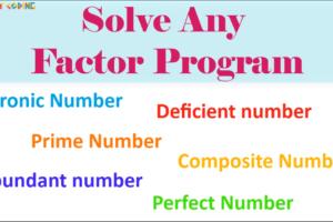 factorialProg