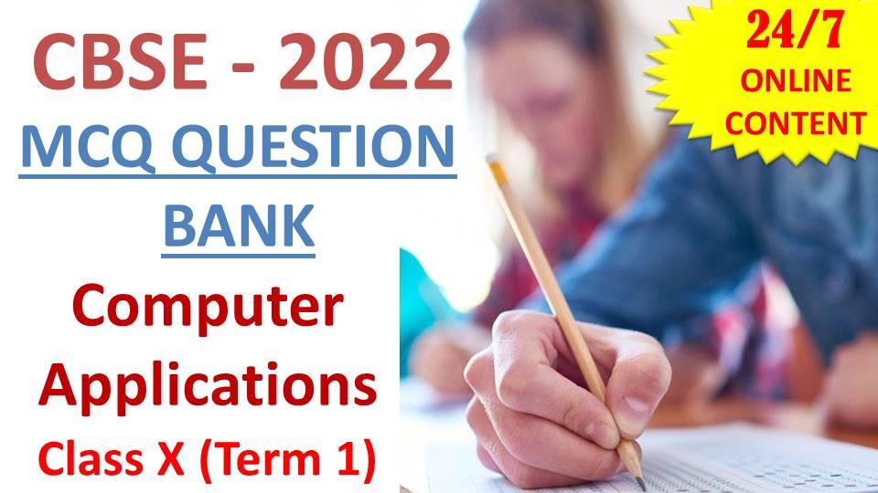 CBSE CA Term 1 QB 2022